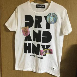 グランドキャニオン(GRAND CANYON)の値下げHoney phickグラフィックロゴxスタンププリントロゴTシャツ未使用(Tシャツ/カットソー(半袖/袖なし))