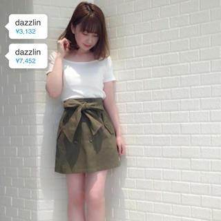 ダズリン(dazzlin)のダズリン  2wayリボントレンチスカート(ミニスカート)