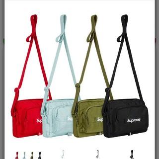 シュプリーム(Supreme)の19SS Supreme shoulder Bag  BLACK(ショルダーバッグ)