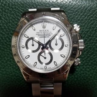 ロレックス(ROLEX)のロレックスデイトナ116520日ロレOH済②(腕時計(アナログ))