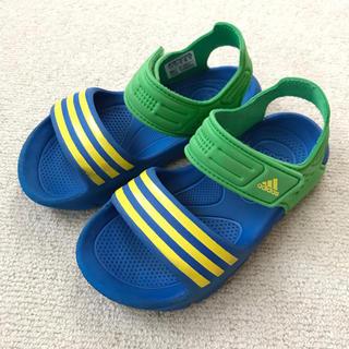 アディダス(adidas)のアディダス キッズ サンダル 18㎝(サンダル)