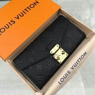 人気新作 LV ポルトフォイユ·メティス 長財布 ノワール  新品未使用です
