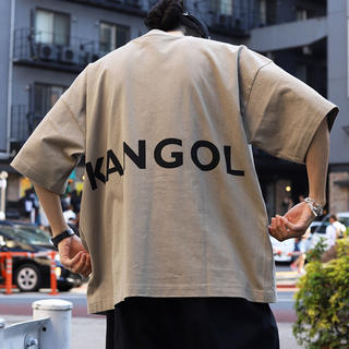 KANGOL - KANGOL ビックシルエットTシャツ