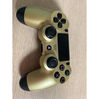 プレイステーション(PlayStation)のps4 コントローラー 金(その他)