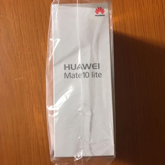 ANDROID(アンドロイド)のHUAWEI Mate10 lite グラファイトブラック SIMフリー スマホ/家電/カメラのスマートフォン/携帯電話(スマートフォン本体)の商品写真