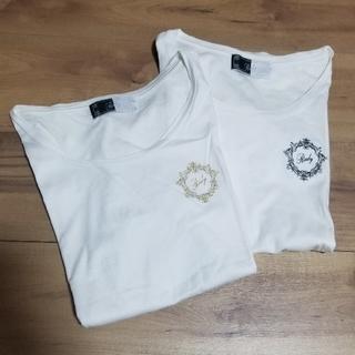 レディー(Rady)のRady ワンポイントフレームロゴTシャツ★訳あり2枚セット★(Tシャツ/カットソー(半袖/袖なし))