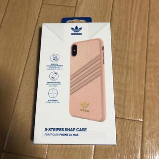 アディダス(adidas)のiPhone Xs MAX ケース adidas pink(iPhoneケース)