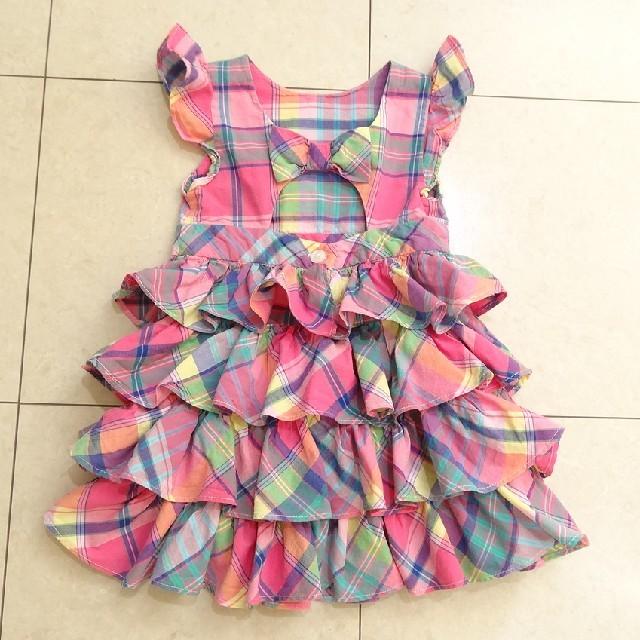 Ralph Lauren(ラルフローレン)のラルフローレン ドレス ワンピース キッズ/ベビー/マタニティのキッズ服 女の子用(90cm~)(ワンピース)の商品写真