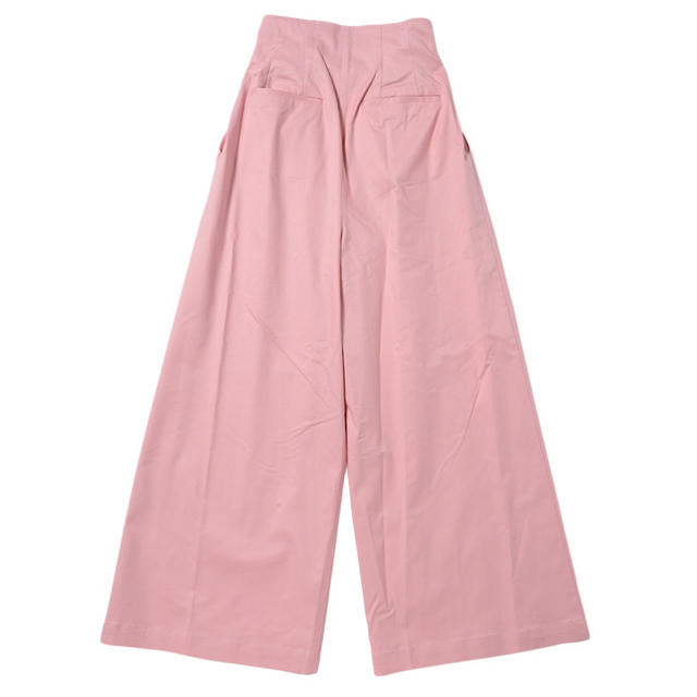 Honey mi Honey(ハニーミーハニー)のcotton wide pants PINK レディースのパンツ(カジュアルパンツ)の商品写真