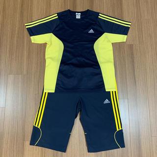 adidas - adidas CLIMACOOLジャージ 半袖T&ハーフパンツ