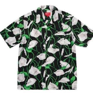 Supreme - 国内正規品 supreme Lily Rayon Shirt M