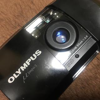 オリンパス(OLYMPUS)のジャンク オリンパスμ 単焦点(フィルムカメラ)