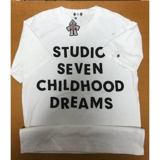 ジーユー(GU)のGU ★ STUDIO SEVEN  Tシャツ   白 Mサイズ(Tシャツ/カットソー(半袖/袖なし))