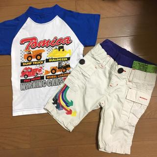 ジャンクストアー(JUNK STORE)の短パンTシャツ90(パンツ/スパッツ)