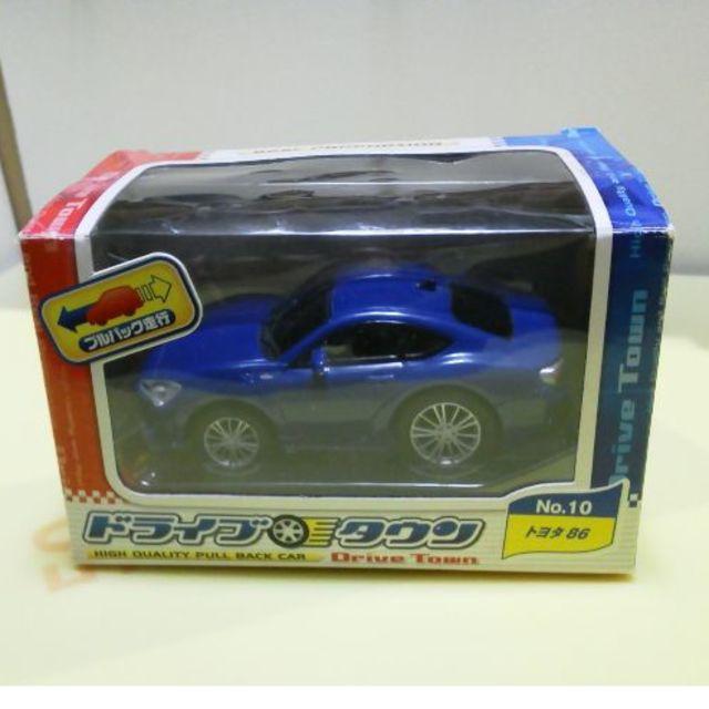 トヨタ(トヨタ)の86 ドライブタウン トヨタ プルバックカー エンタメ/ホビーのおもちゃ/ぬいぐるみ(ミニカー)の商品写真