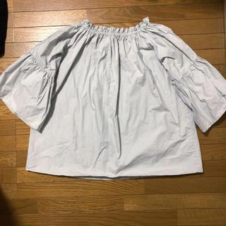 しまむら - 首元ギャザーバルーン六分〜七分袖カットソー