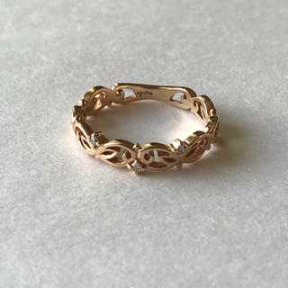アガット(agete)のagete  K10ダイヤリング(リング(指輪))