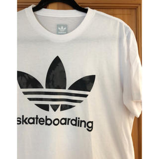 アディダス(adidas)のadidas skateboarding Tシャツ Lサイズ(Tシャツ/カットソー(半袖/袖なし))
