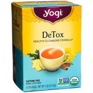 日本未発売 Yogi Tea ヨギティー Detox デトックス!紅茶(茶)