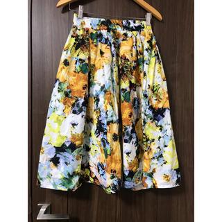 しまむら - しまむら❤️花柄スカート
