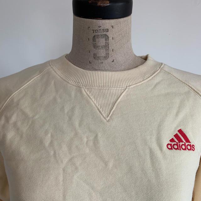 adidas(アディダス)の新品タグ付き adidas ロゴスウェット キッズ/ベビー/マタニティのキッズ服 男の子用(90cm~)(Tシャツ/カットソー)の商品写真