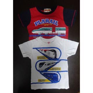 ユニクロ(UNIQLO)のTシャツ 100センチ ユニクロ プラレール 2枚セット (Tシャツ/カットソー)