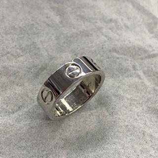 カルティエ(Cartier)のカルティエ ラブリング プラチナ 47号(リング(指輪))