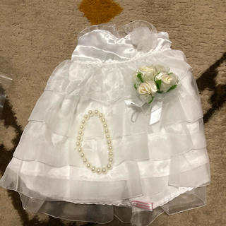 ウエディングドール 衣装セット(衣装一式)