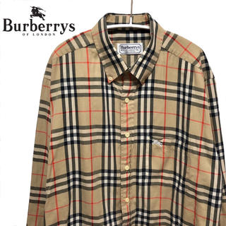 バーバリー(BURBERRY)の【値下げ交渉あり!】バーバリー ノバチェックシャツL(シャツ)
