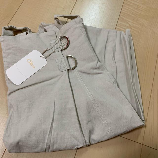 who's who Chico(フーズフーチコ)の新作新品❁フーズフーチコ サス付きフレアスカート レディースのスカート(ロングスカート)の商品写真