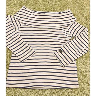 シマムラ(しまむら)のバースデー ボーダー オフショル トップス(Tシャツ/カットソー)