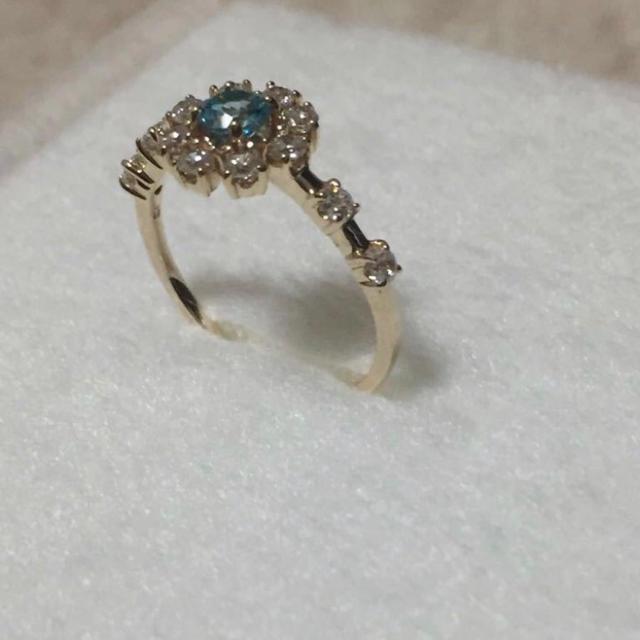 Samantha Tiara(サマンサティアラ)のサマンサティアラ リング Aque jewel レディースのアクセサリー(リング(指輪))の商品写真
