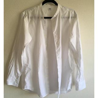 ユニクロ(UNIQLO)のUNIQLO ノーカラーシャツ(シャツ)