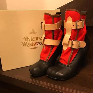 ヴィヴィアンウエストウッド(Vivienne Westwood)のヴィヴィアンウエストウッド ボンテージブーツ(ブーツ)