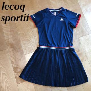 le coq sportif - ★ 美品 lecoq ルコック スポルティフ レディース L ワンピース 半袖