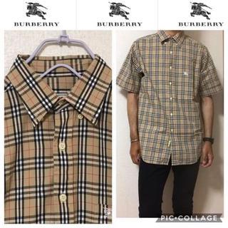 バーバリー(BURBERRY)の530 バーバリー  ノバチェック  シャツ 半袖(シャツ)