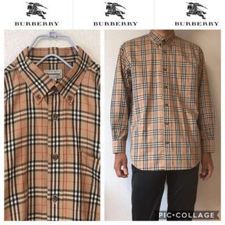 バーバリー(BURBERRY)の531 90s バーバリー   ノバチェック   シャツ(シャツ)