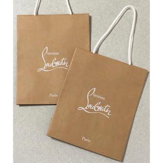 クリスチャンルブタン(Christian Louboutin)のルブタン 紙袋 2枚セット(ショップ袋)