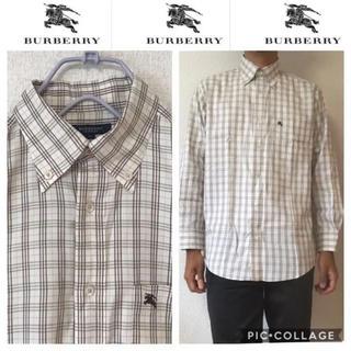バーバリー(BURBERRY)の510 バーバリー  ノバチェック  シャツ(シャツ)