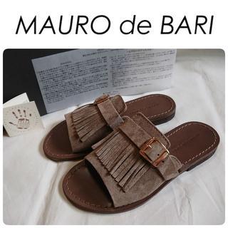 DEUXIEME CLASSE - 菊池京子さん着用 新品 MAURO de BARI フラット サンダル