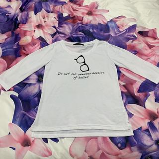 シマムラ(しまむら)のTシャツ トップス カットソー(Tシャツ(長袖/七分))