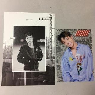 アイコン(iKON)のiKON Bobby カード(アイドルグッズ)