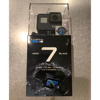 ゴープロ(GoPro)のGoPro HERO7 BLACK 新品未開封 ゴープロ ヒーロー7ブラック(ビデオカメラ)