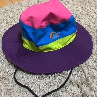 ロウアルパイン(Lowe Alpine)のジョニーさん専用☺︎Lowe alpine GORE-TEX 登山用帽子(登山用品)