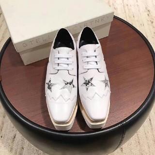 ステラマッカートニー(Stella McCartney)のステラマッカートニー☆エリスブリットシューズ プラットフォーム(ローファー/革靴)