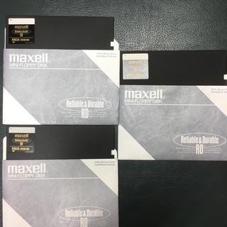 マクセル(maxell)のmaxell 5.25インチ フロッピーディスク 3枚セット(その他)