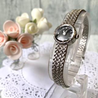 アガット(agete)の【美品】agete アガット 腕時計 ラウンドフェイス ジュエリーウォッチ(腕時計)
