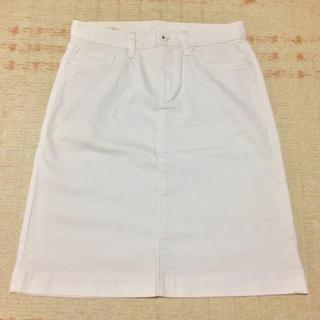 ユニクロ(UNIQLO)のユニクロ デニムスカート(ひざ丈スカート)