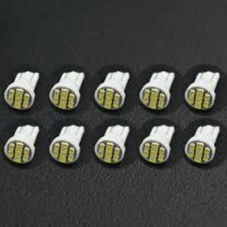 T10  LED  ウェッジ球  1206  8SMD  10個セット