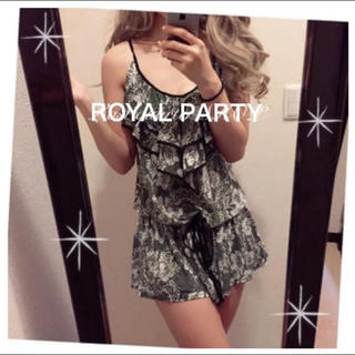 ロイヤルパーティー(ROYAL PARTY)のROYAL PARTY♡双子コーデ可能!レディー オールインワン コンビネゾン(オールインワン)